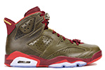 Air Jordan 6 Retro Cigar Raw Umber / Red