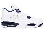 Air Jordan 4 Retro LS White / Legend Blue