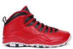 Air Jordan 10 Retro 30th Bulls Over Broadway Gym Red / Black