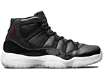Air Jordan 11 Retro 72-10 Black / Gym Red