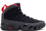 Air Jordan 9 Retro Black / Dark Charcoal