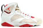 Air Jordan 7 OG Hare White / Silver / Red